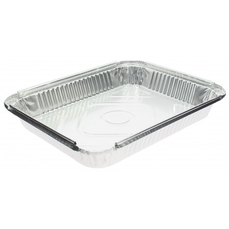 Bandeja Aluminio 24C. 2400ml 325x250x38mm (100 Uds)
