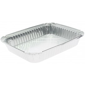 Bandeja Aluminio 12C. 1180ml 240x188x35mm (600 Uds)