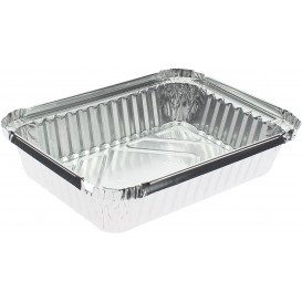 Bandeja Aluminio 6C. 590ml 191x141x33mm (1000 Uds)