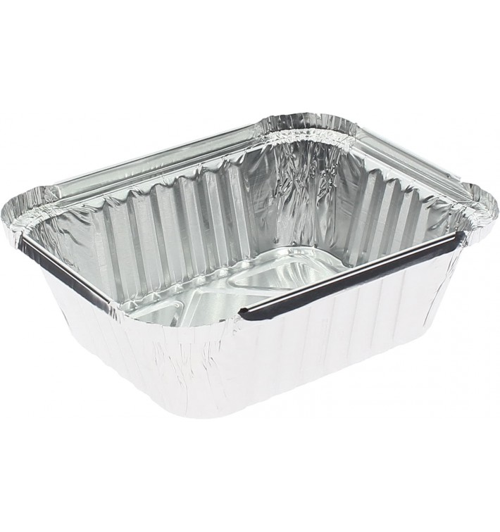 Bandeja Aluminio 475ml 146x121x40mm (1200 Uds)