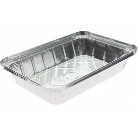 Bandeja Aluminio 9C. 890ml 225x155x36mm (100 Uds)