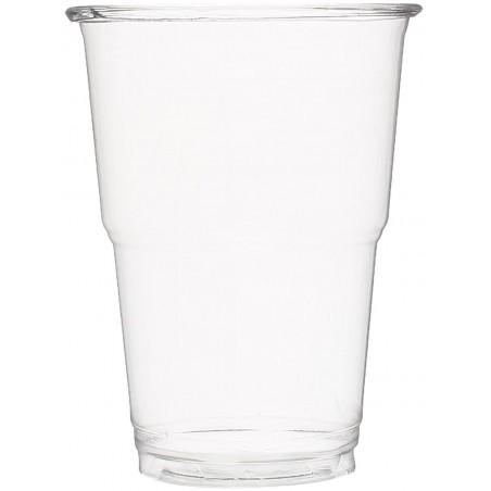 Vaso de Plastico PET Cristal Transparente 250 ml (1250 Uds)