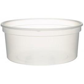 Tarrina de Plastico Transparente PP 350ml Ø11,5cm (500 Uds)
