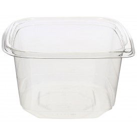 Bol de Plástico PET 600ml 120x120x70mm (50 Uds)