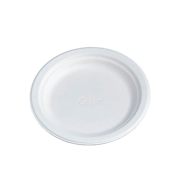 Plato de Cartón Chinet 240mm Blanco (400 Uds)