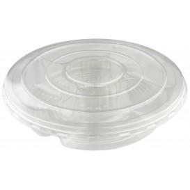 Bol Plástico PET 5C con tapa Ø350x70mm (50 Uds)
