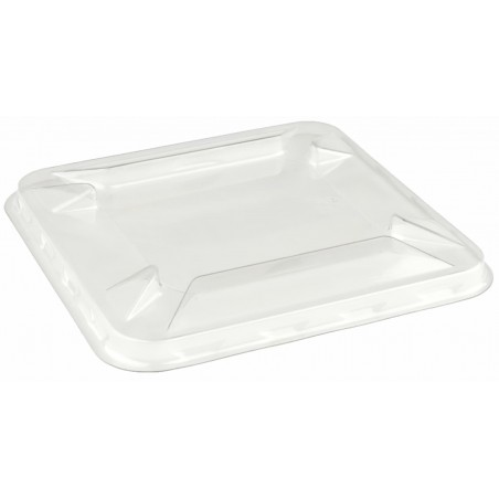 Tapa de Plástico PET para Bol Mini de 90x90mm (50 Uds)