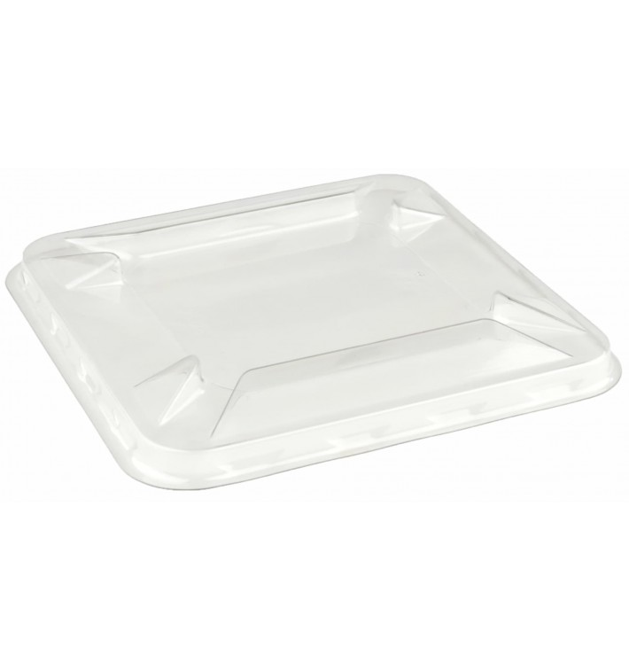 Tapa de Plástico PET para Bol Mini de 90x90mm (300 Uds)