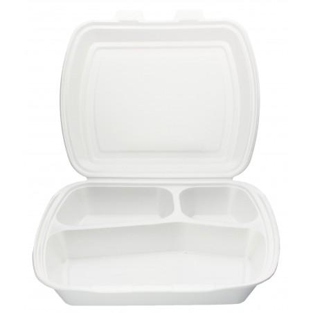 Envase Foam MenuBox 3 C. 240x210x70mm (50 Uds)
