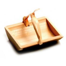 Bandeja de Bambu 6x5x1,5cm (10 Uds)