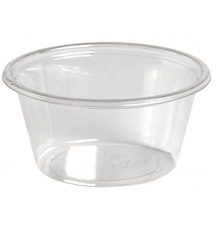 Tarrina para Salsas rPET Cristal 60ml Ø6,2cm (250 Uds)