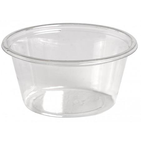 Tarrina para Salsas rPET Cristal 60ml Ø6,2cm (2500 Uds)