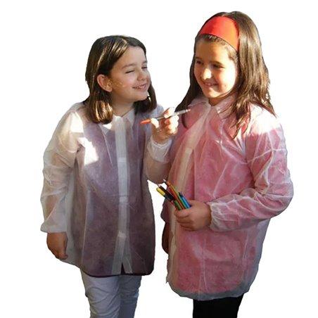 Bata Infantil TST PP 35gr Con Velcro Sin Bolsillo (1 Ud)