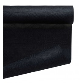 Mantel de Papel Rollo Negro 1,2x7m (25 Uds)