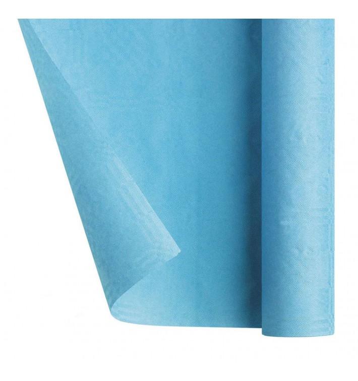 Mantel de Papel Rollo Azul Claro 1,2x7m (25 Uds)