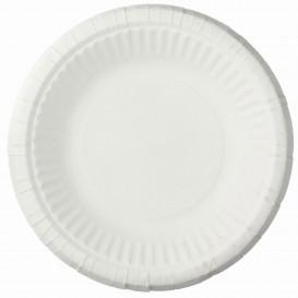 Plato de Papel Hondo Blanco Ø19cm (1000 Uds)