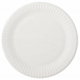 Plato de Papel Blanco Ø15 cm (2000 Uds)