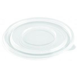 Tapa Plana de Plástico para Bol PET Ø230mm (100 Uds)