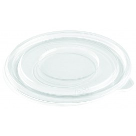 Tapa Plana de Plástico para Bol PET Ø260mm (25 Uds)
