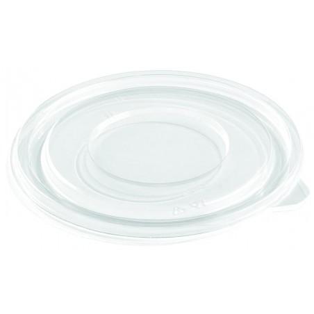 Tapa Plana de Plástico para Bol PET Ø300mm (50 Uds)