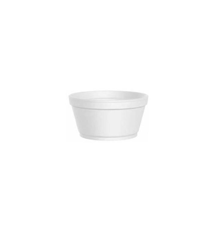 Tarrina Termico Foam Blanco 3,5 Oz/100ml Ø7,4cm (1000 Uds)