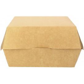 Caja Kraft para Hamburguesa Mega 18x16,5x9 cm (200 Uds)