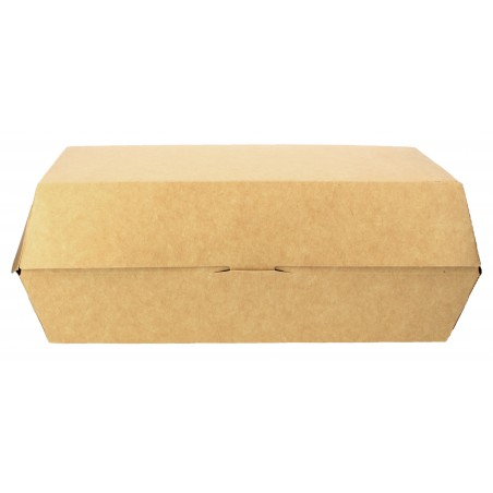 Envase para Bocadillo Kraft 20x10x4cm (25 Uds)