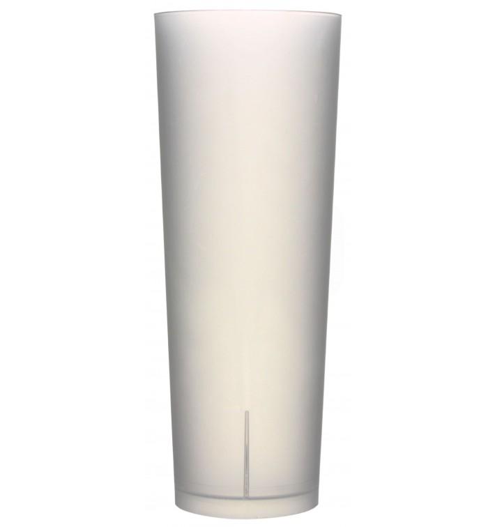 "Vaso de Tubo Reutilizable PP ""Frost"" 330ml (420 Uds)"