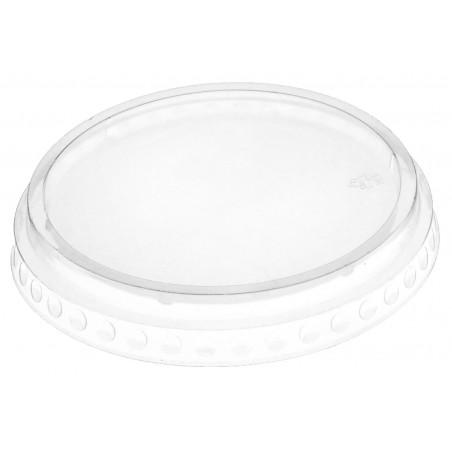 Tapa Plana Cerrada PET Cristal Ø9,5cm (1792 Uds)