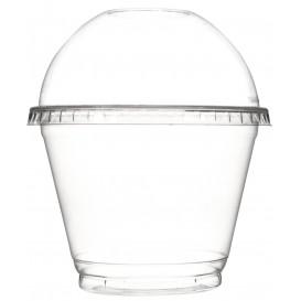 Tapa Cupula Cerrada Tarrina PET 270ml Ø9,3cm (100 Uds)