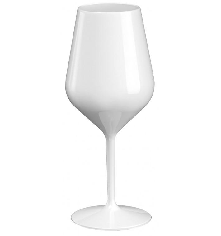 Copa Reutilizable para Vino Tritan Blanca 470ml (1 Ud)