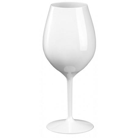 Copa Reutilizable para Vino Tritan Blanca 510ml (1 Ud)