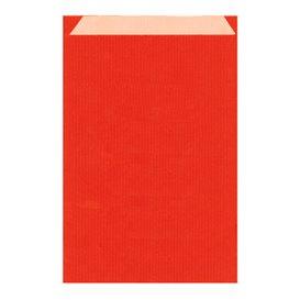 Sobre de Papel Kraft Roja 12+5x18cm (125 Unidades)
