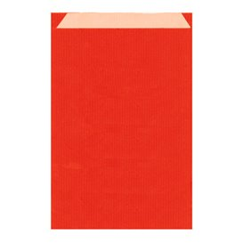 Sobre de Papel Kraft Roja 26+9x38cm (125 Unidades)