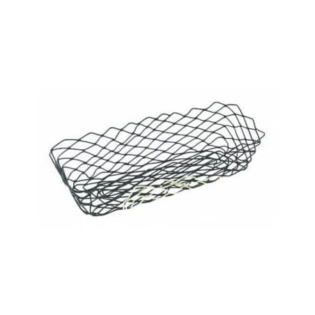 Cesta Rectangular de Acero Negro 275x142x85mm (1 Ud)