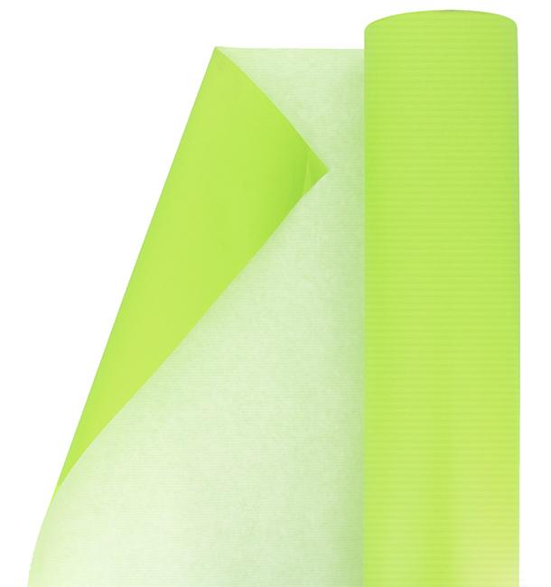 Rollo de Papel para Regalo Verde Anis 100 m (1 Ud)