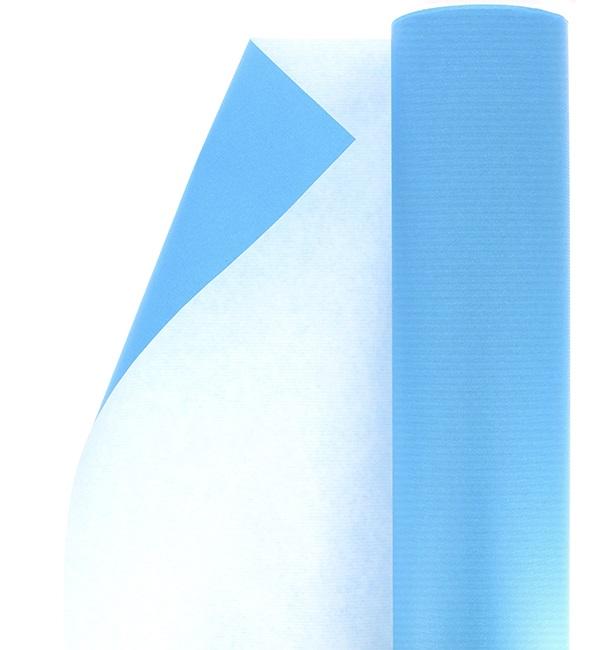Rollo de Papel para Regalo Celulosa Turquesa 100 m (1 Ud)