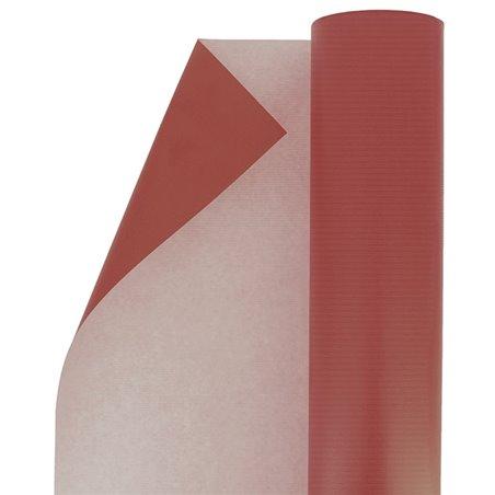 Rollo de Papel para Regalo Kraft Rojo 100 m (1 Ud)