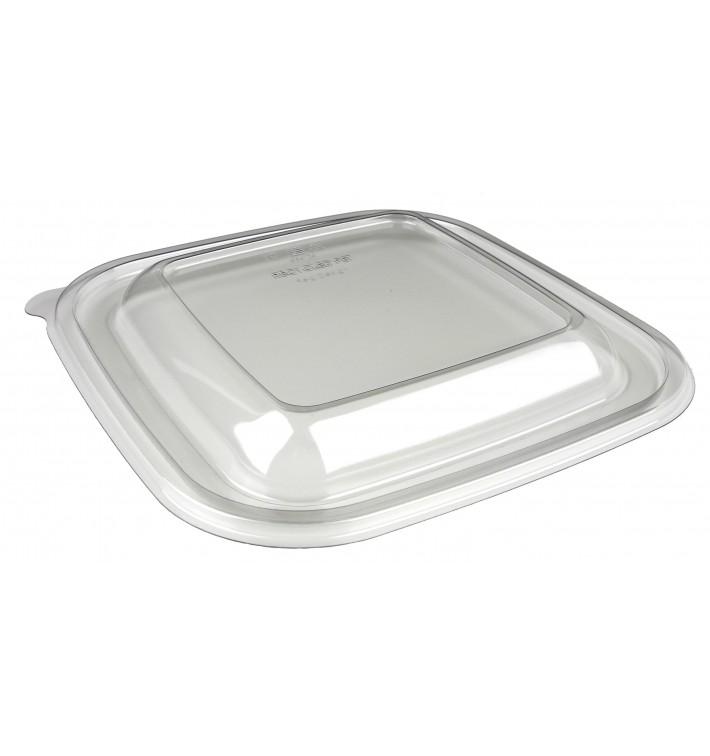 Tapa de Plástico PET para Bol Termosellable de 120x120x70mm (300 Uds)
