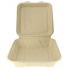Envase MenuBox Caña de Azúcar 235x235x78mm (200 Uds)