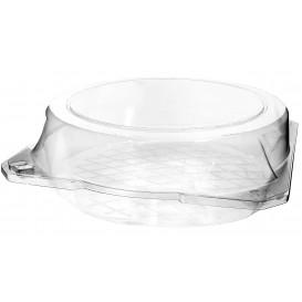 Envase Tapa Bisagra Repostería PET Ø23x8cm (115 Uds)