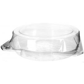 Envase Tapa Bisagra para Respotería PET Ø27x8cm (100 Uds)
