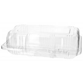 Envase Tapa Bisagra para Respotería PET 18x9,5x6cm (20 Uds)