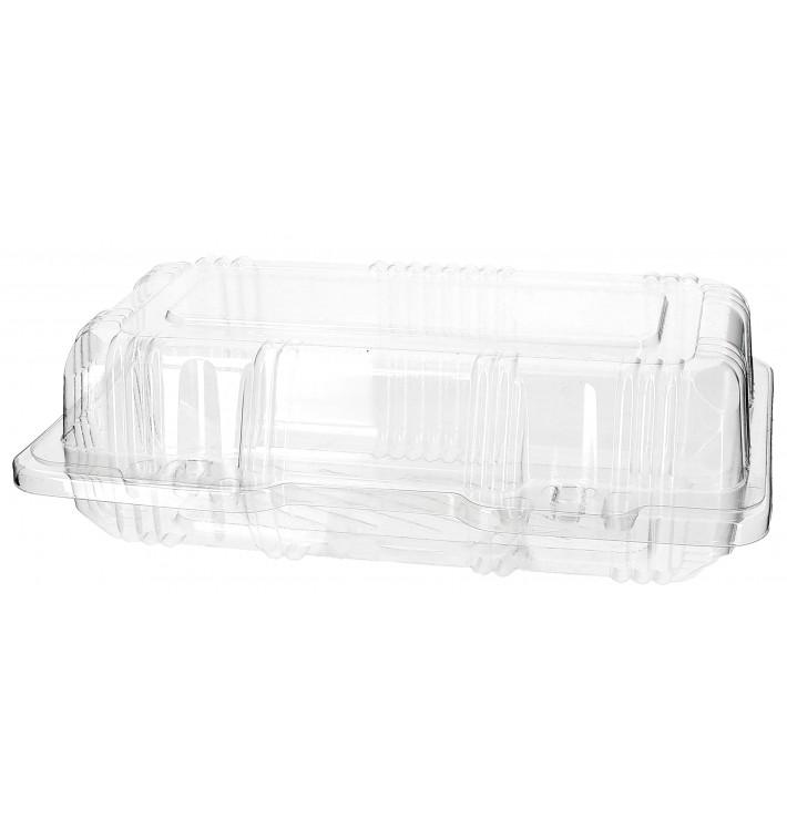 Envase Tapa Bisagra Repostería PET 18x9,5x6cm (220 Uds)