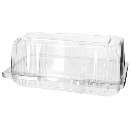 Envase Tapa Bisagra para Respotería PET 18x9,5x8cm (220 Uds)