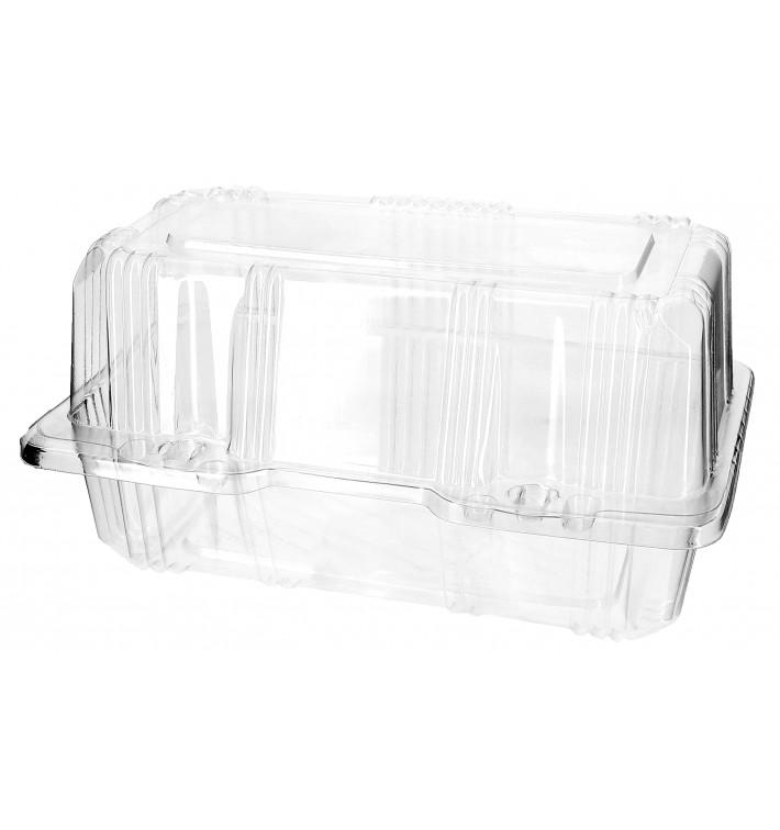 Envase Tapa Bisagra Repostería PET 18x9,5x10cm (20 Uds)