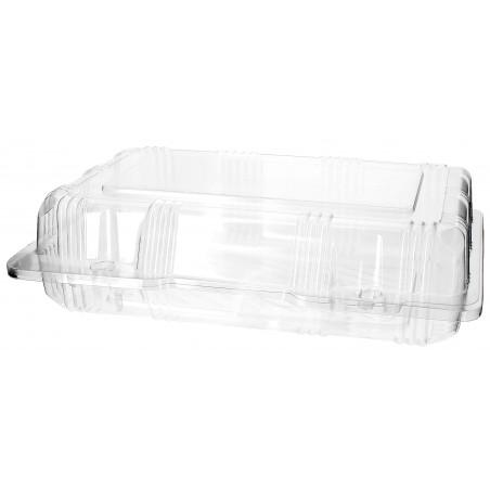 Envase Tapa Bisagra para Respotería PET 22x14,5x6cm (20 Uds)