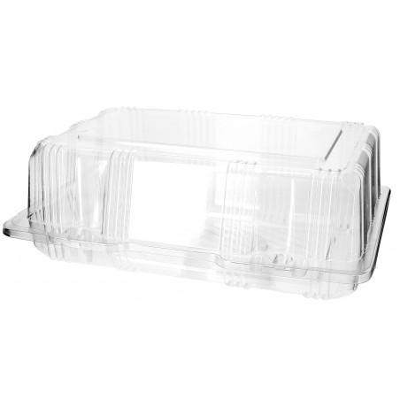 Envase Tapa Bisagra para Respotería PET 22x14,5x8cm (20 Uds)