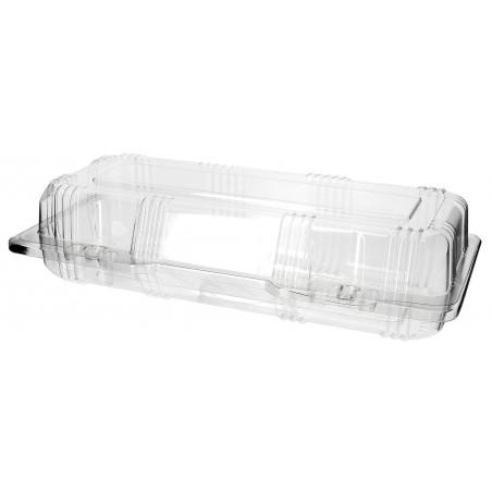 Envase Tapa Bisagra para Respotería PET 24x10x6cm (220 Uds)