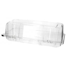 Envase Tapa Bisagra para Respotería PET 24x10x8cm (20 Uds)